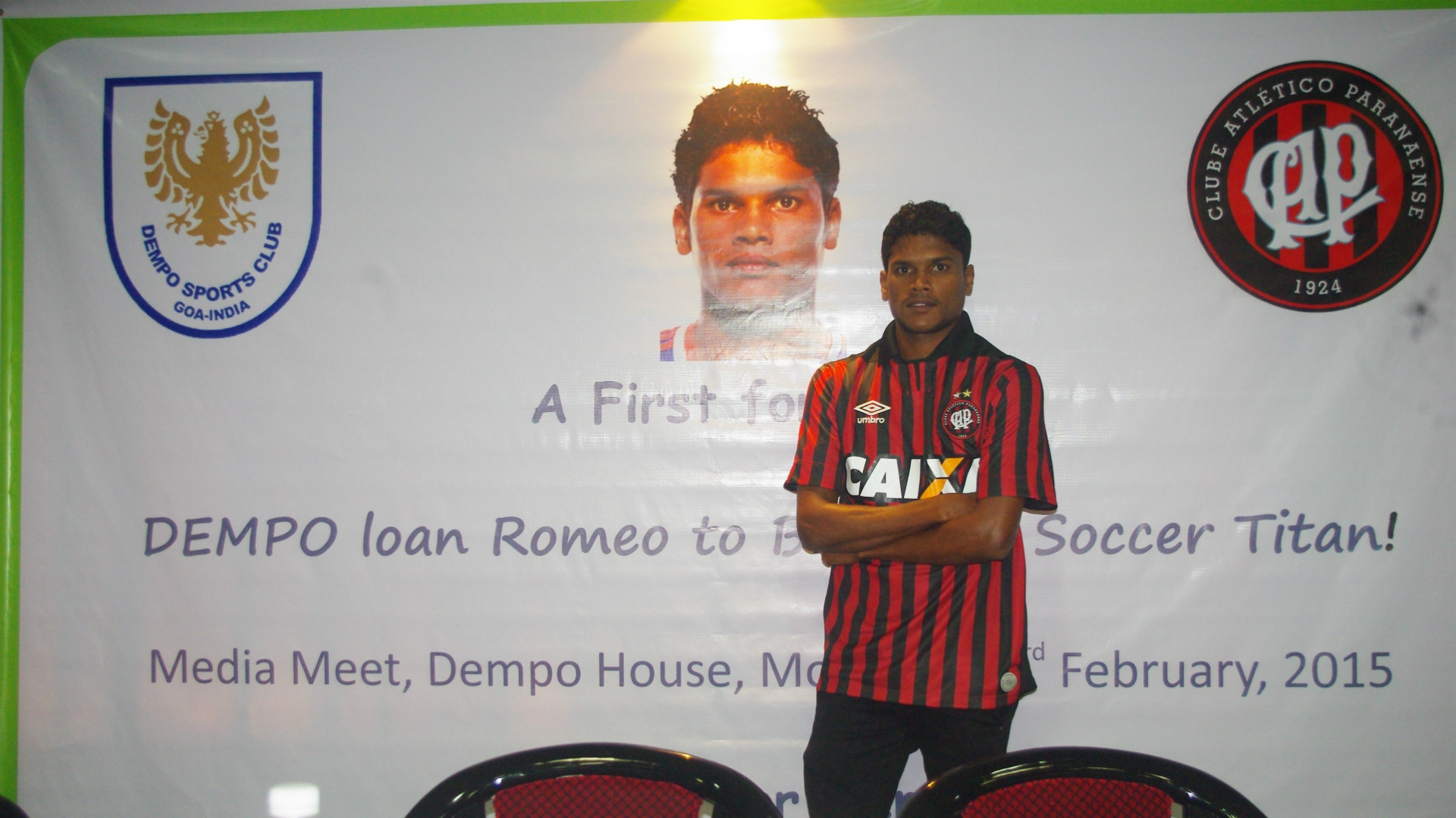 Romeo Fernandes trying to rebuild a career that derailed after his Brazil stint