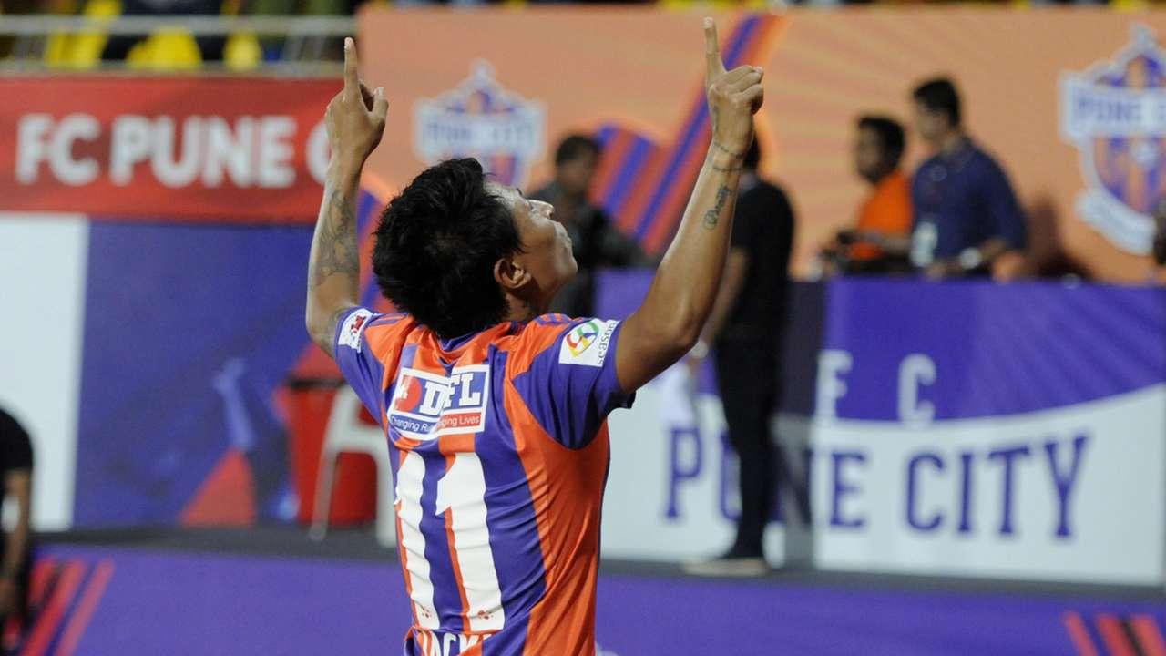 Jackichand Singh FC Pune City Atletico de Kolkata ISL season 2