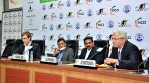 Javier Ceppi Kushal Das Shaji Prabhakaran Joy Bhattacharya  FICCI Goal 2015 Convention