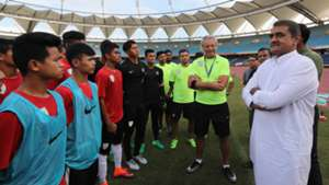 Praful Patel Indian U-17 World Cup Squad