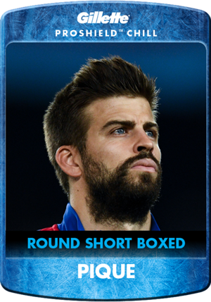 Pique PROSHIELD Gillette: Beard of the Month
