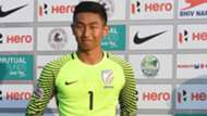 Dheeraj Singh Moirangthem Indian Arrows I-League 2017/2018
