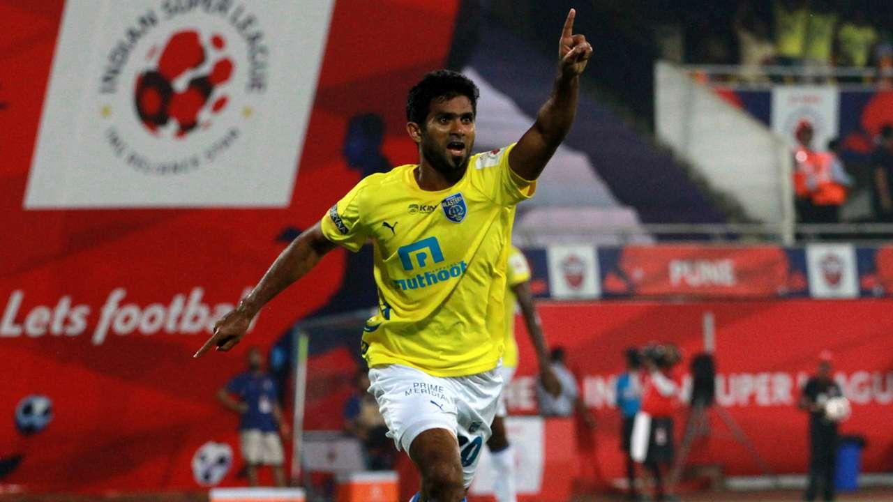 Mohd Rafi FC Pune City Kerala Blasters FC ISL season 2