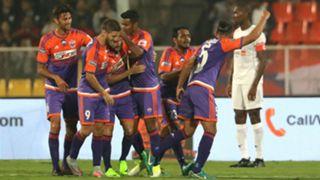 FC Pune City NorthEast United FC I-League 2017/2018