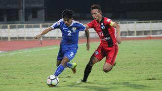 Boris Thangjam Chencho Gyeltshen Indian Arrows Minerva Punjab FC I-League 2017/2018