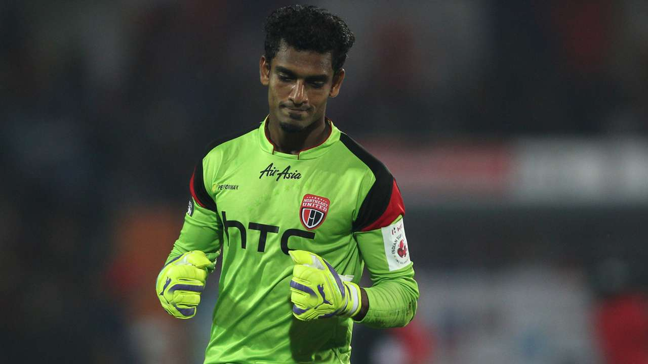 Rehenesh TP NorthEast United FC Delhi Dynamos FC ISLseason 2