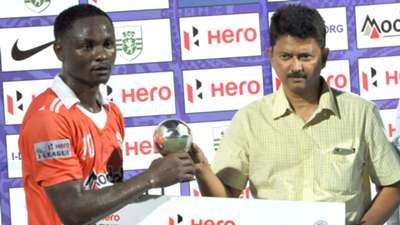 Odafa Okolie Sporting Clube de Goa Mumbai FC I-League