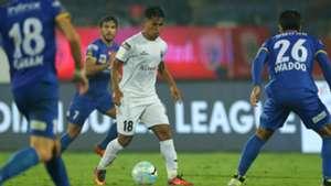 Malemngamba Meitei NorthEast United FC Mumbai City FC ISL 4 2017/2018