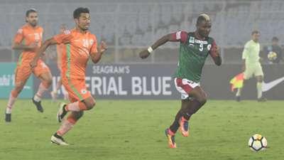 Ansumana Kromah Thangjam Singh Mohun Bagan NEROCA FC I-League 2017/2018