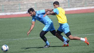 NS Manju Darren Caldeira Bengaluru FC training session