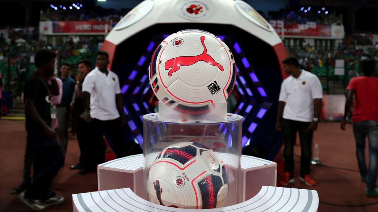 ISL Season 2 official Puma Football