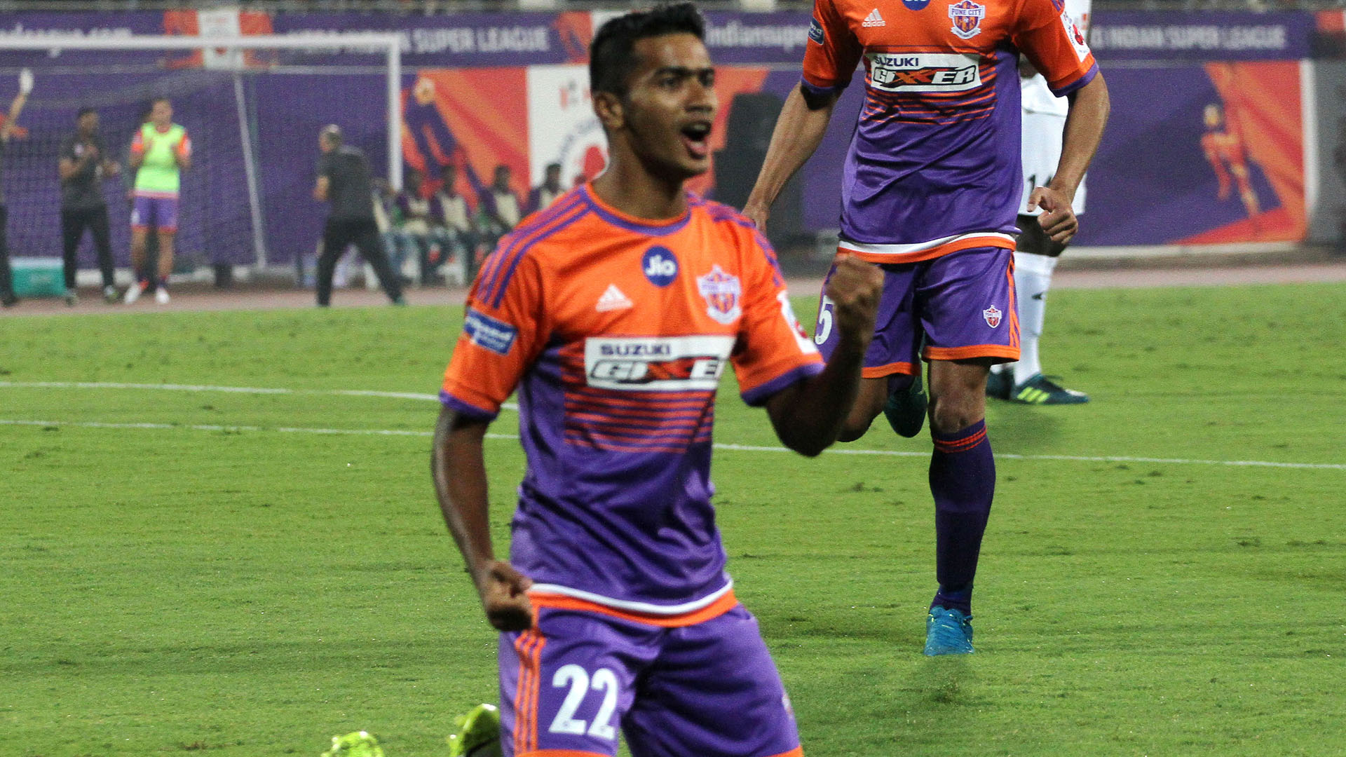 Ashique Kuruniyan FC Pune City NorthEast United FC I-League 2017/2018
