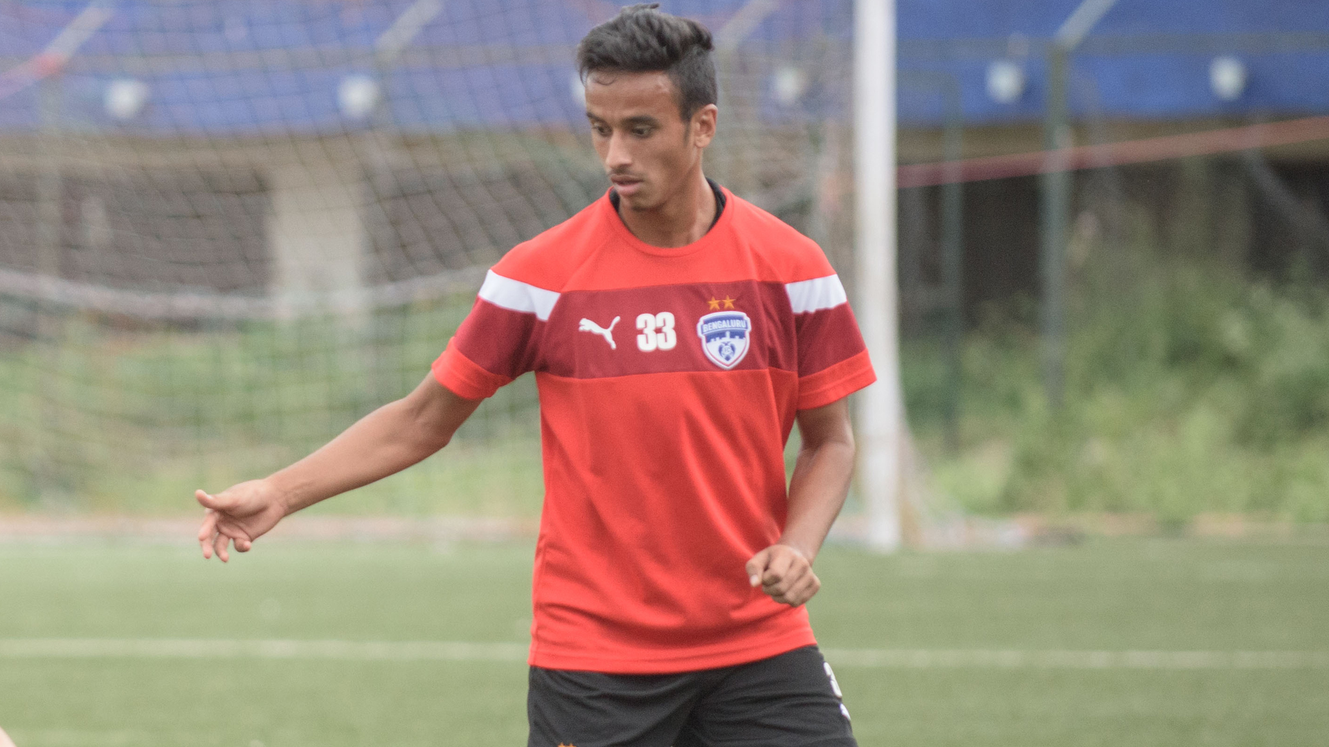 Gursimrat Singh Bengaluru FC training session