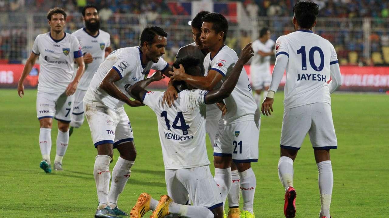 FC Goa Chennaiyin FC ISL season 2 11102015