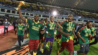 Ini Selebrasi Kamerun Saat Juara Piala Afrika 2017