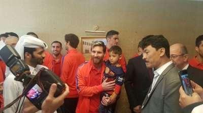 Murtaza Ahmadi, Si Bocah 'Kantong Keresek' Yang Ditemui Lionel Messi