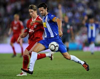 Dani Jarque & Fernando Torres - Liverpool vs Espanyol 2009
