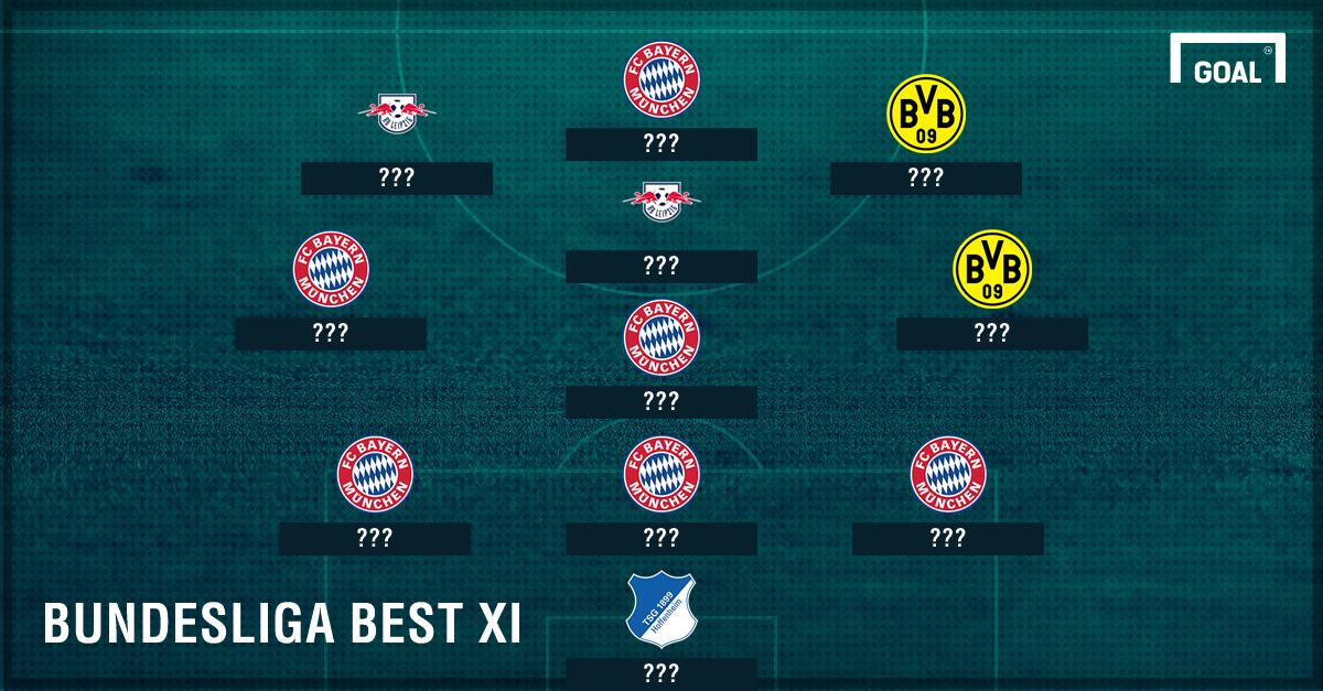 Tim Terbaik Bundesliga Jerman 2016/17 Sejauh Ini