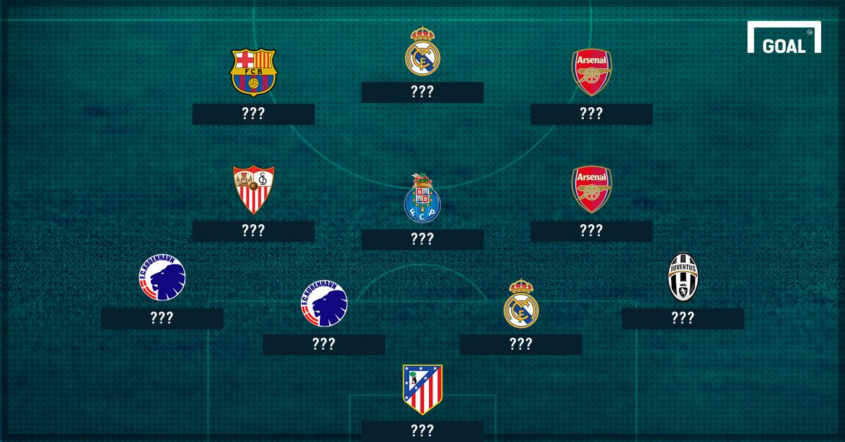 Lionel Messi & Tim Terbaik Fase Grup Liga Champions 2016/17