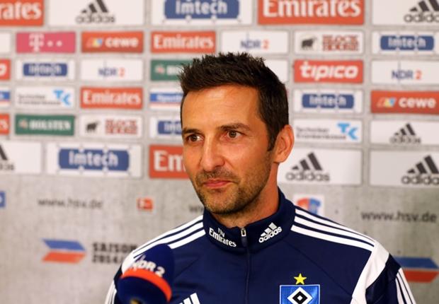 Hamburg coach Josef Zinnbauer