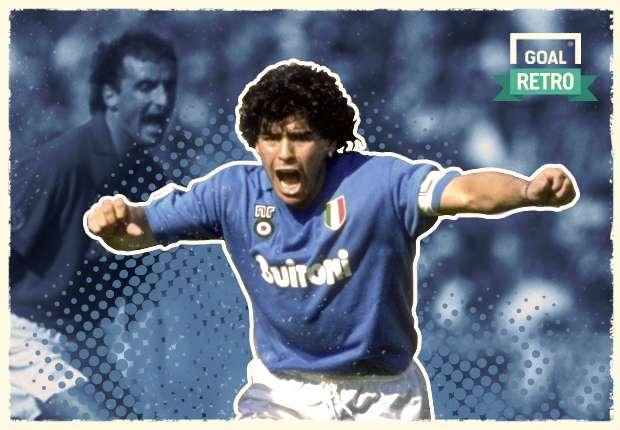 Goal Retro Diego Maradona Napoli Riwayat Dewa Argentina Di Selatan Italia Goal Com
