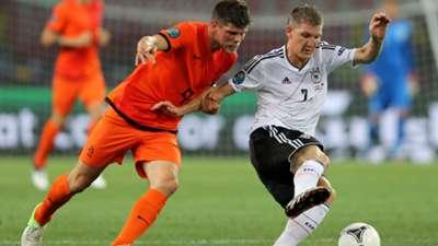 Bastian Schweinsteiger - Germany v Netherlands - Euro 2012 Group Match