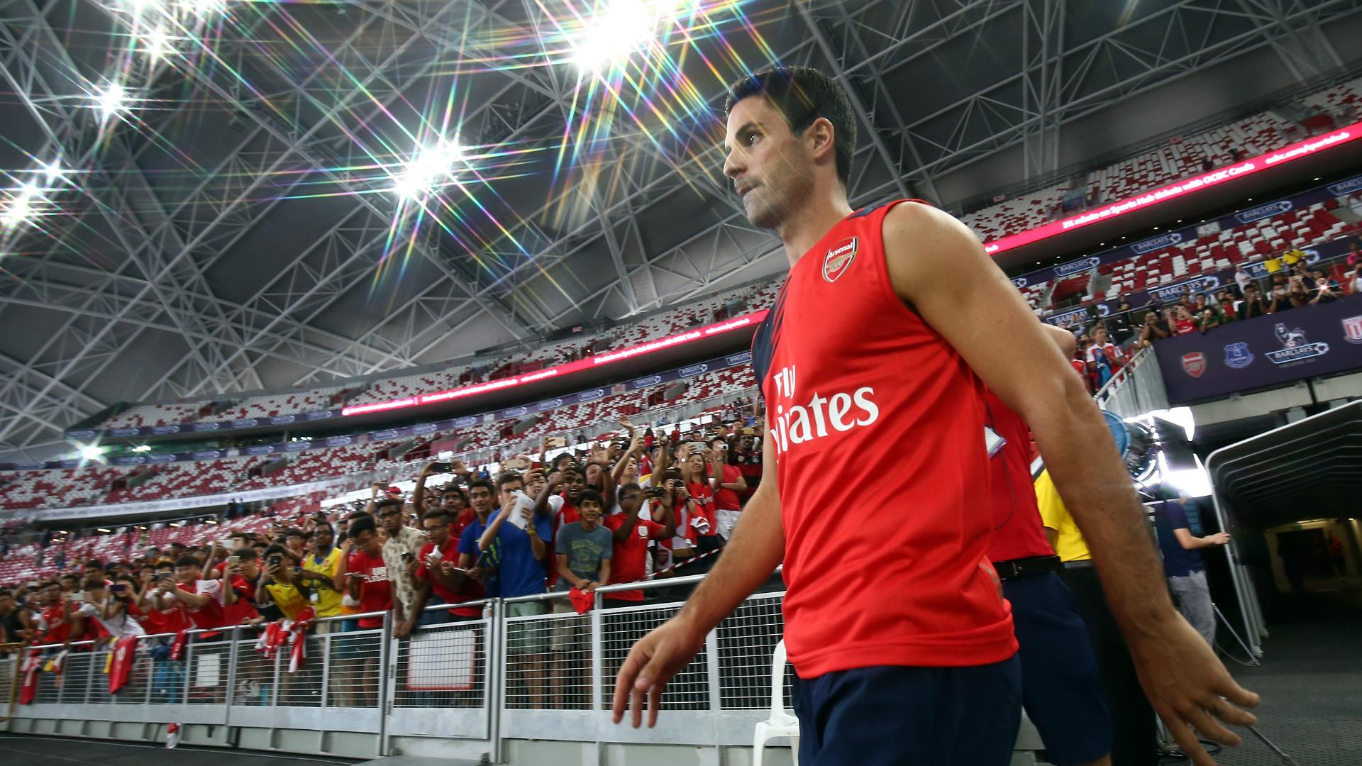 Mikel Arteta Arsenal Asia Trophy