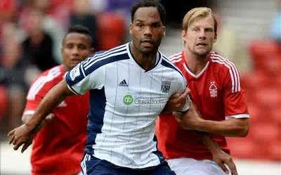 West Brom defender Joleon Lescott