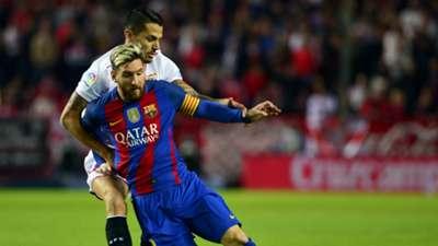 Neymar, Lionel Messi & Jagoan Dribel La Liga Spanyol