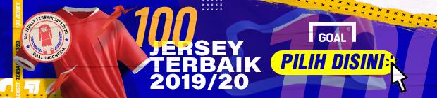 100 Jersey Terbaik 2019 2020 Banner