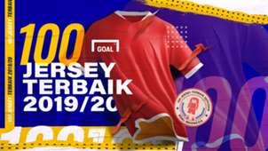 100 Jersey terbaik 2019/20