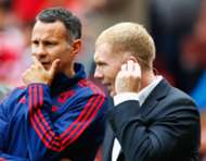 Ryan Giggs, Paul Scholes - Manchester United