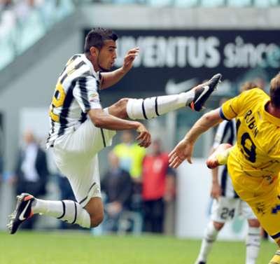 Arturo Vidal Juventus Parma