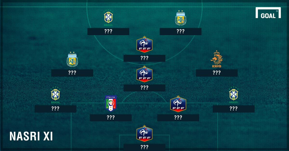 Ronaldo OUT, Messi & Zidane MASUK: Tim Terbaik Sepanjang Masa Samir Nasri