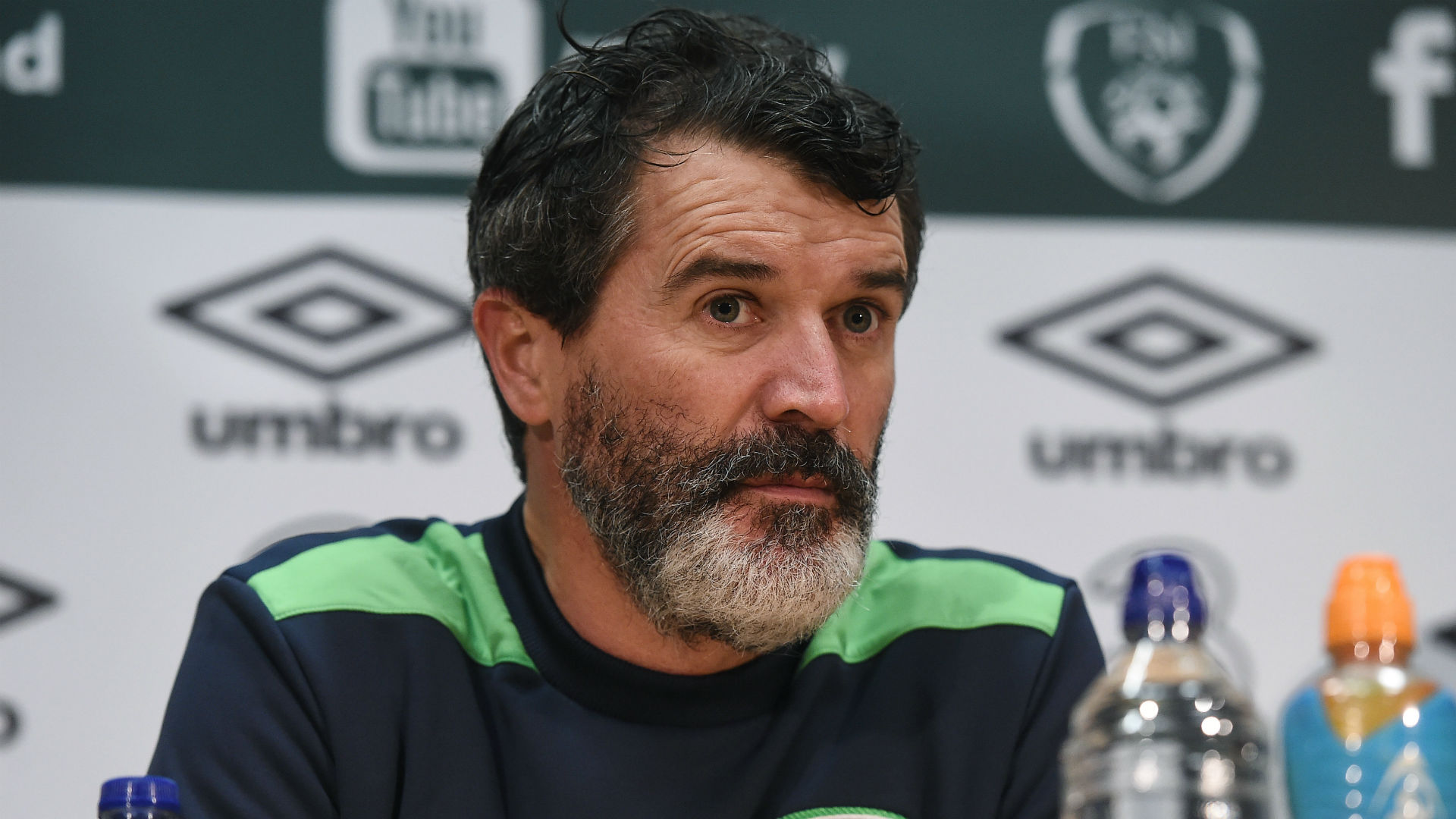 Roy Keane Republic of Ireland 08112016