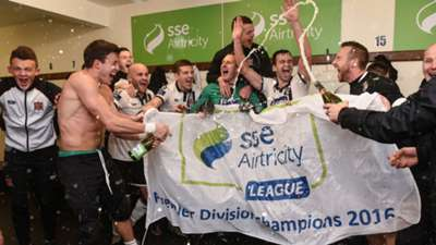 Dundalk celebrate 2016 Premier Division win