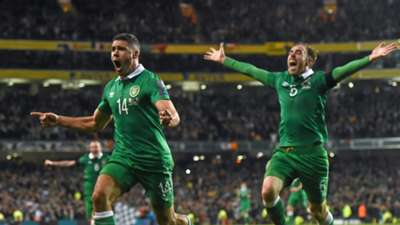 Jonathan Walters Richard Keogh Ireland