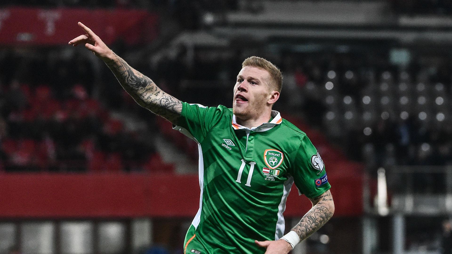 James McClean Ireland 12112016