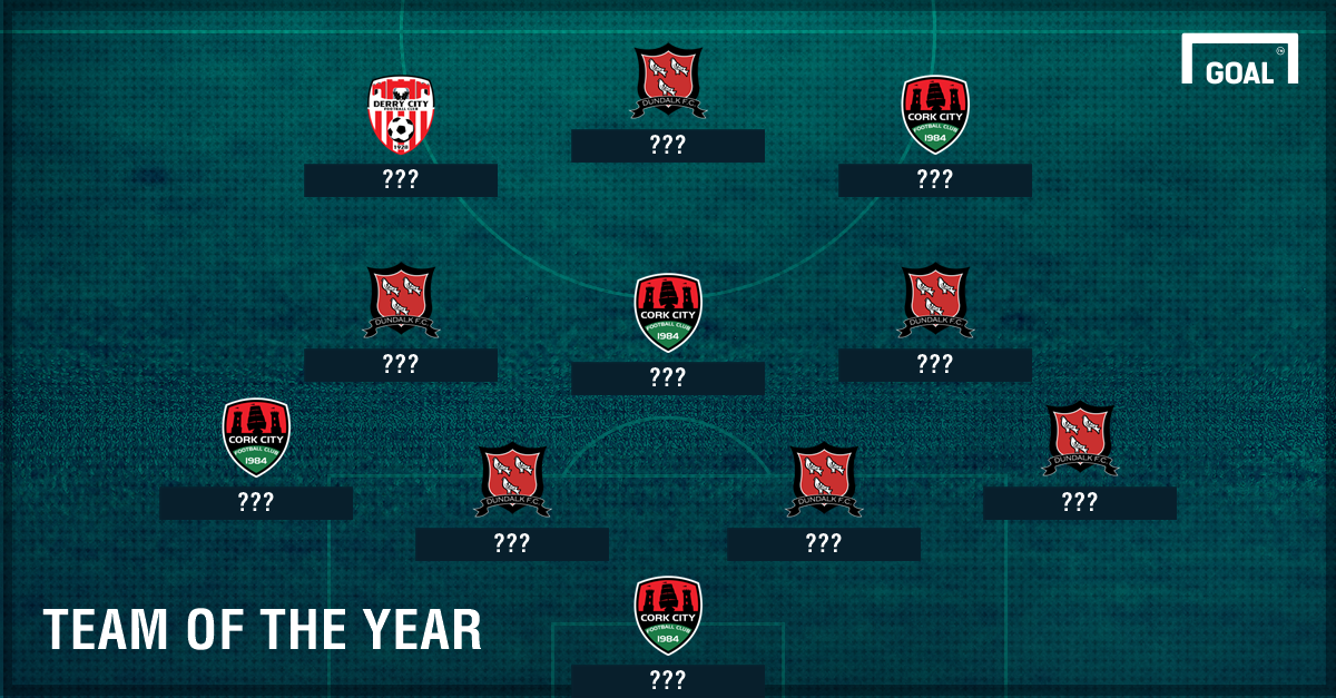 Goal's 2016 Premier Division Team of the Year 1