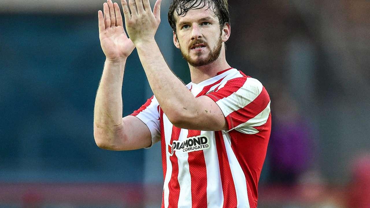 Ryan McBride Derry City 20140703