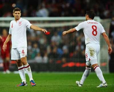 2014 Lampard gerrard england