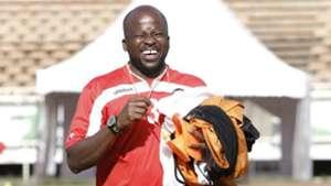 A happy assistant coach Frank Ouna