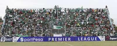 Gor Mahia fans at Afraha Stadium