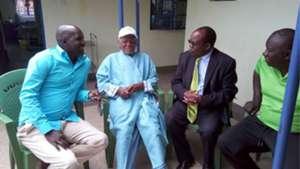 Sam Nyamweya visits ailing legenadary Joe Kadenge