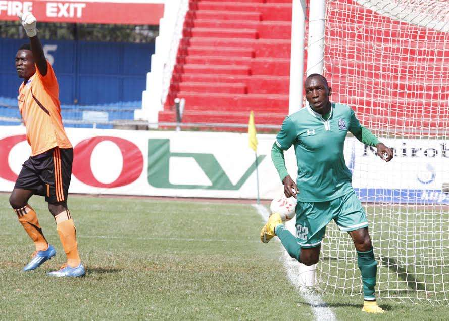 Gor Mahia moved to 55 points after goals from Meddie Kagere and a double from Michael Olunga secured a 3-1 win over City Stars