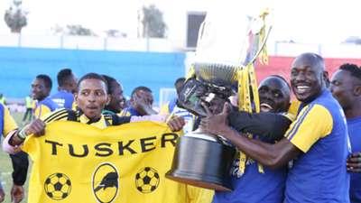 Tusker celebrate