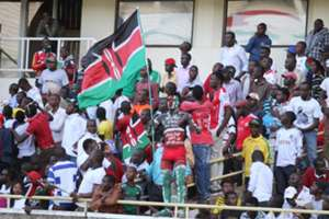 Harambee Stars fans did not disappoint as they came out in large number to cheer the team