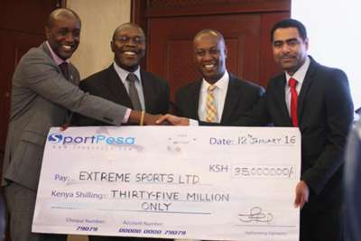 The annual Super 8 tournament will from this year be transformed to league status after SportPesa gave Sh35million