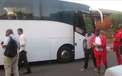 Kenya arrive safely in Morocco for friendly against Atlas Lions.