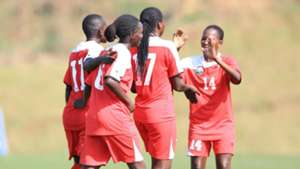 Harambee Starlets star Esse Akida is the leading goal scorer with five to her credit